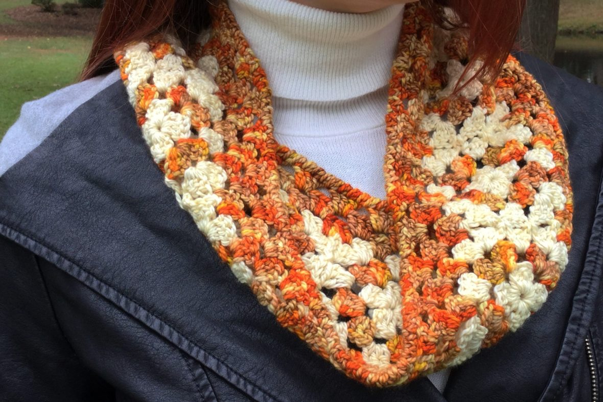 Concentric Cowl - Free Crochet Pattern - Hooked for Life
